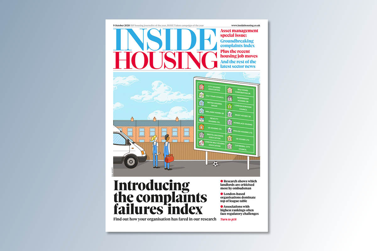 9 October digital edition of Inside Housing out now