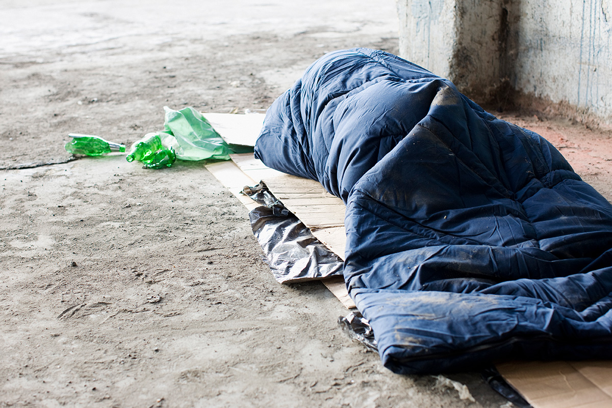 A major government-funded operation is under way to get rough-sleepers into more permanent housing (picture: Getty)