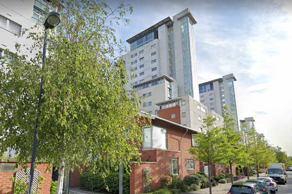 In November Barratt offered to pay for internal fire safety works at Royal Artillery Quay in Woolwich, south-east London (picture: Google Street View)