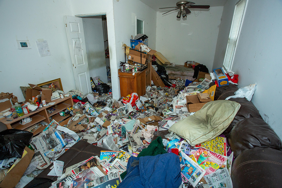 Hoarding is not only a fire risk, but also a psychological issue – and Raven Housing Trust has been engaging with residents to help (picture: Alamy)