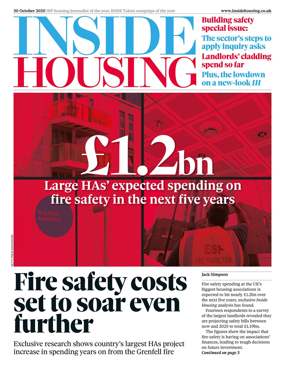 Inside Housing Digital Edition – 30 October 2020