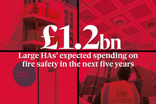 UK's largest housing associations to spend £1.2bn on fire safety in next five years