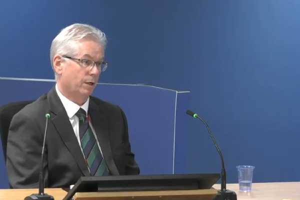 Philip Heath (picture: Grenfell Tower Inquiry)