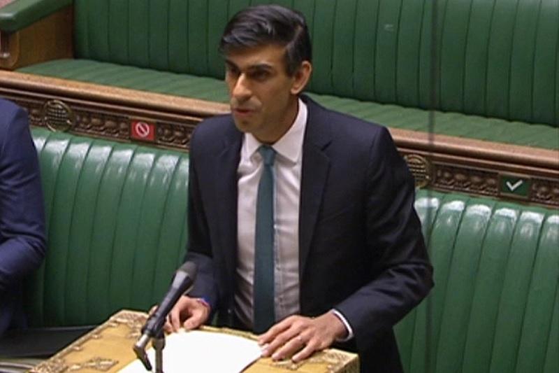 Sunak announces £4bn 'Levelling Up Fund'