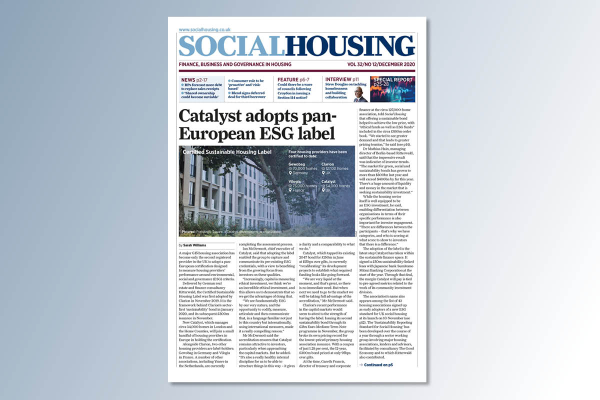 December digital edition of Social Housing out now