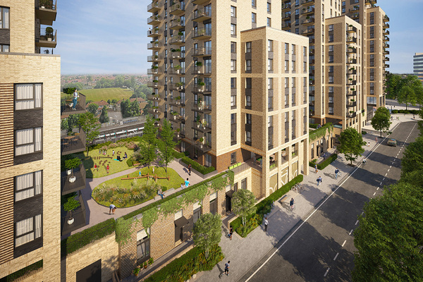 TfL gets green light for 450-home Wembley scheme