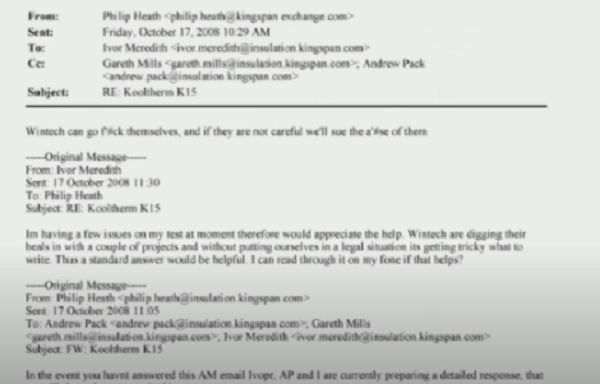 kingspan emails add