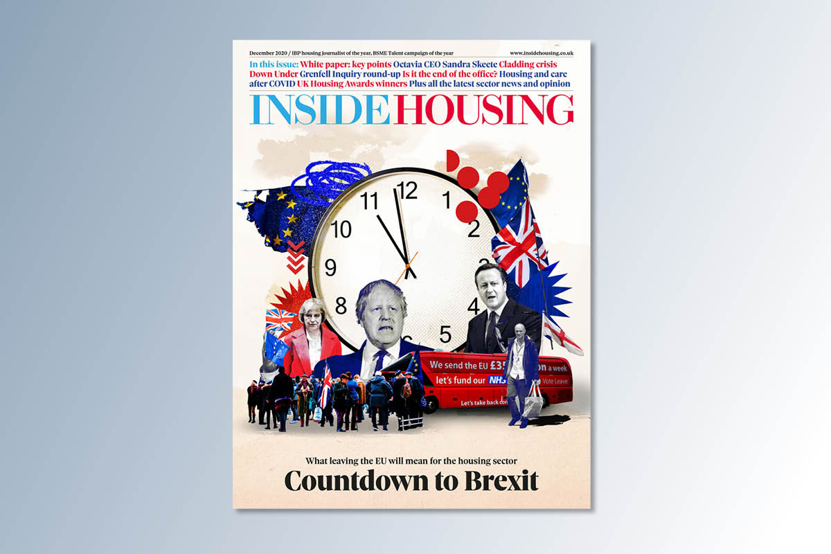 December 2020 digital edition of Inside Housing out now