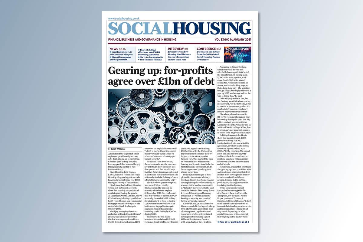 January digital edition of Social Housing out now