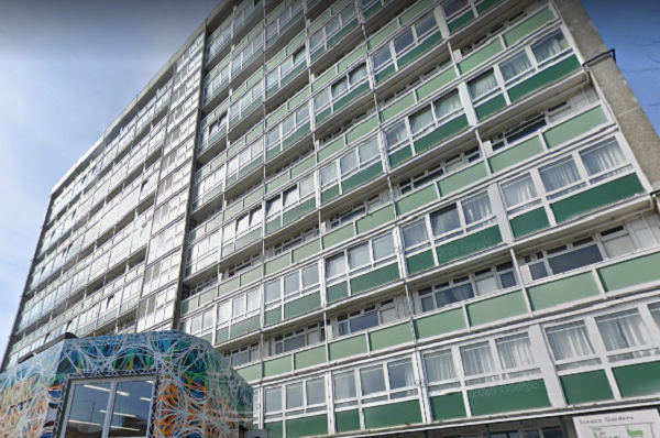 Concerns were raised over the window panels and compartmentation of Marie Curie House (picture: Google Street View)