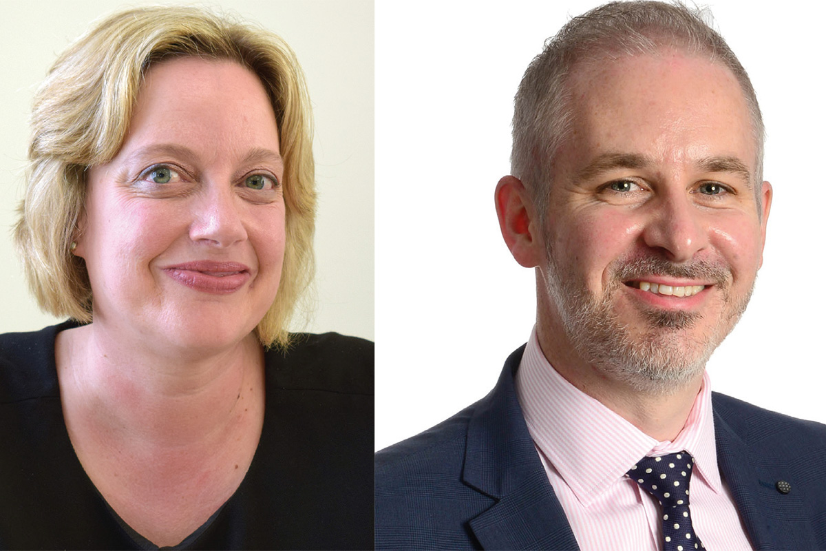 Ruth Cooke will become CEO of the merged association and Stuart Fisher will become CFO