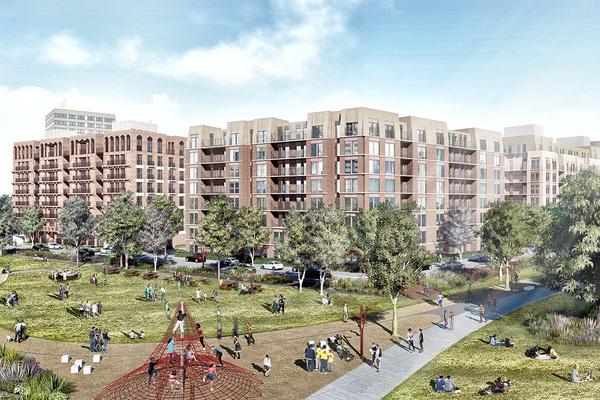 London council's 2,550-home regeneration scheme gets green light