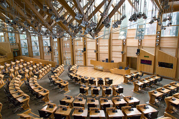 Scottish government sets target for 100,000 affordable homes over next decade