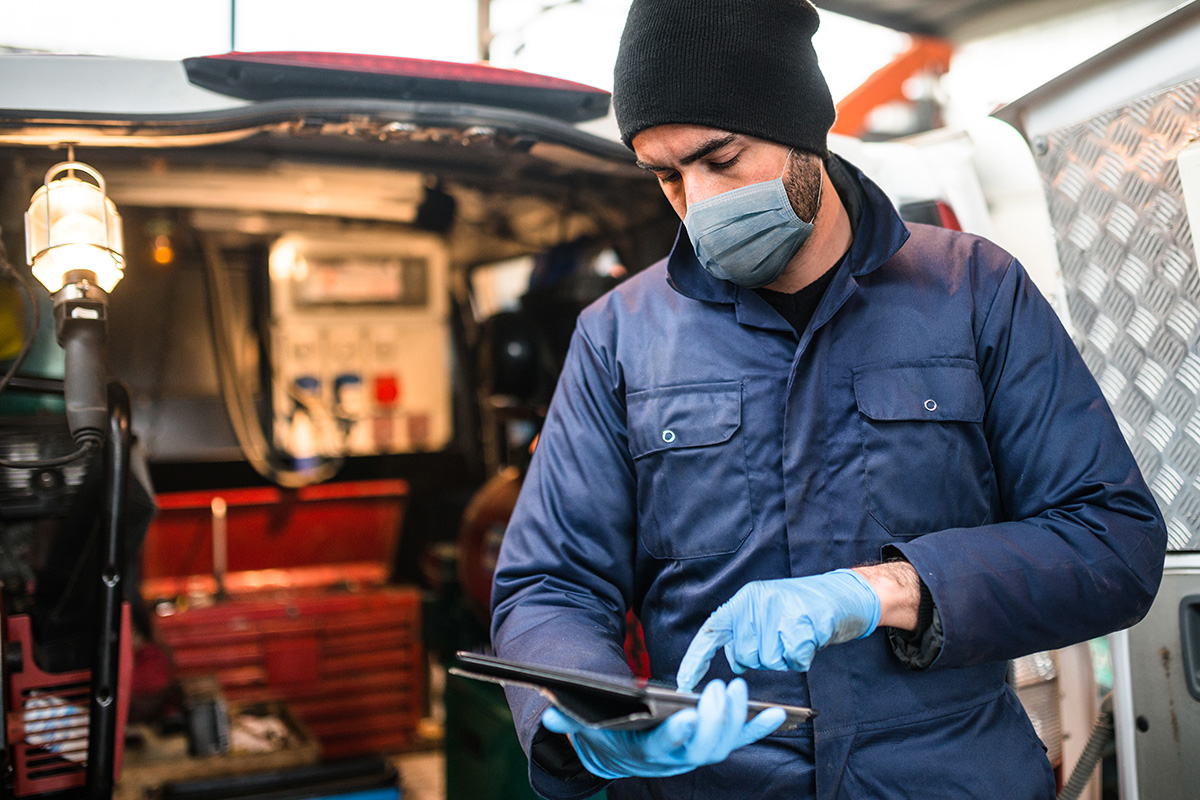 Deploying repairs during the pandemic