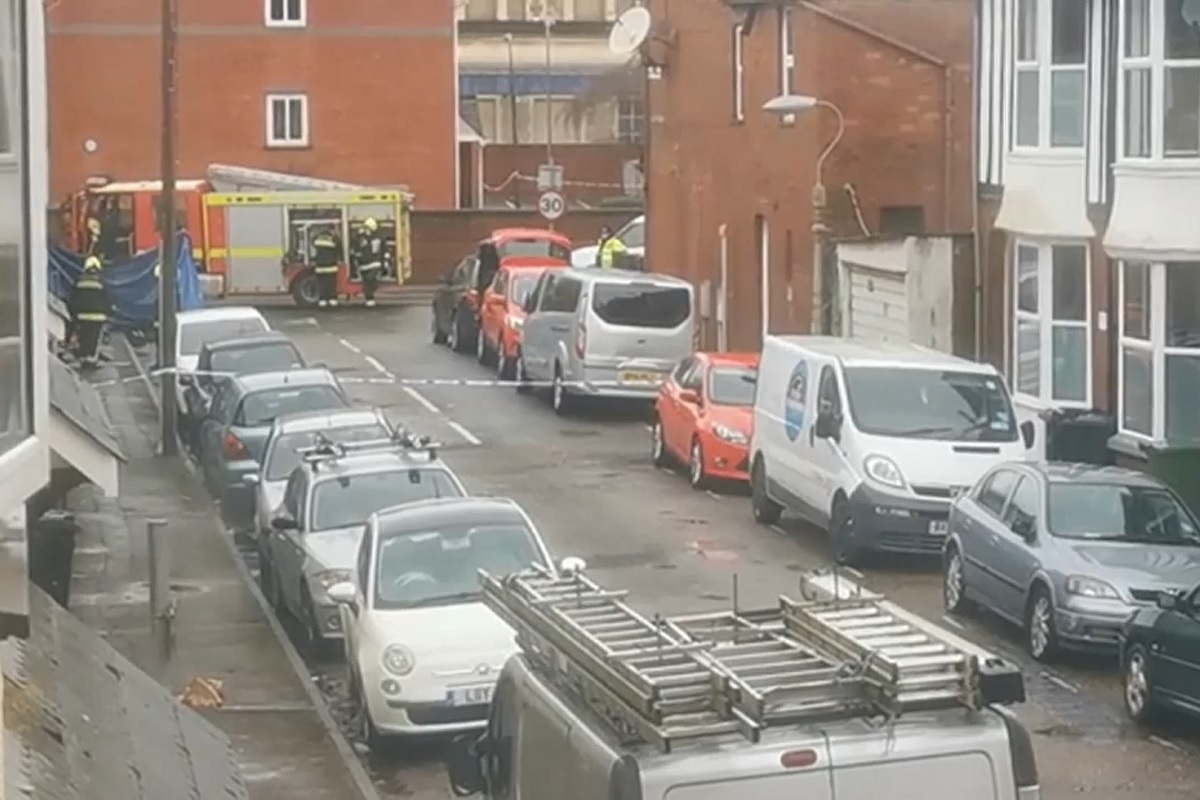 Fire in housing association home kills two adults and one child