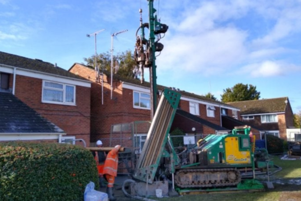 A housing association home undergoes retrofit (picture: Stonewater)