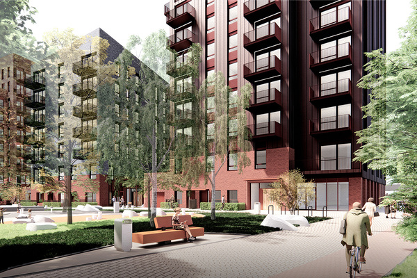 The proposed design of the Better Queensway regeneration project (picture: Swan)