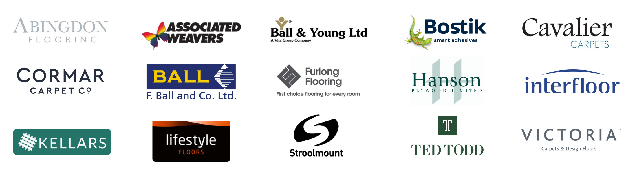 Supplier logos