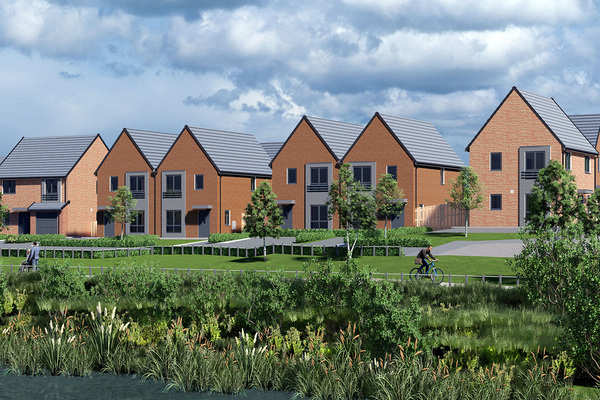 Homes England selects major house builder for 171-home scheme