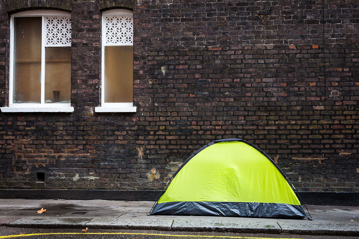 Teenager and mother left to sleep in tent for weeks due to council failings