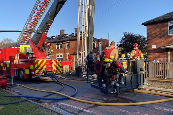 Housing association reviewing fencing safety following fire
