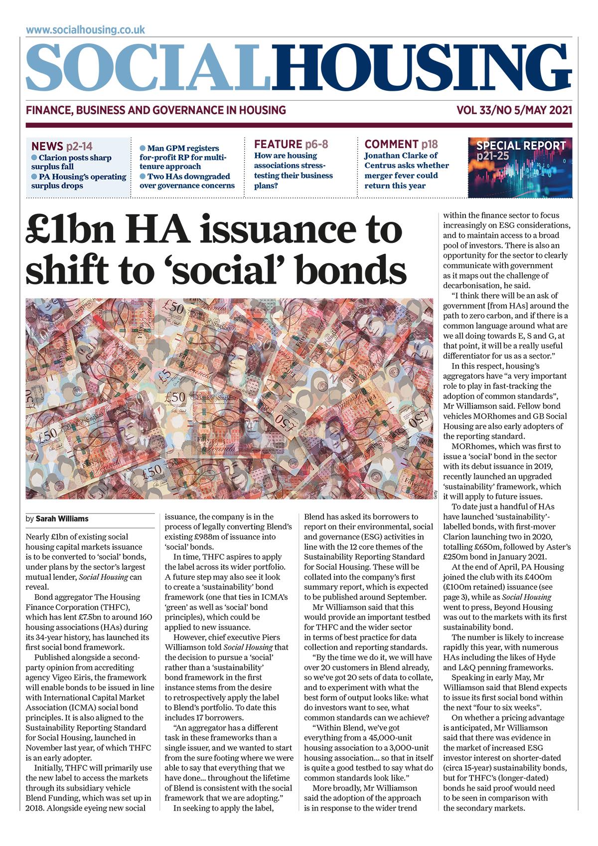 Social Housing Digital Edition – May 2021
