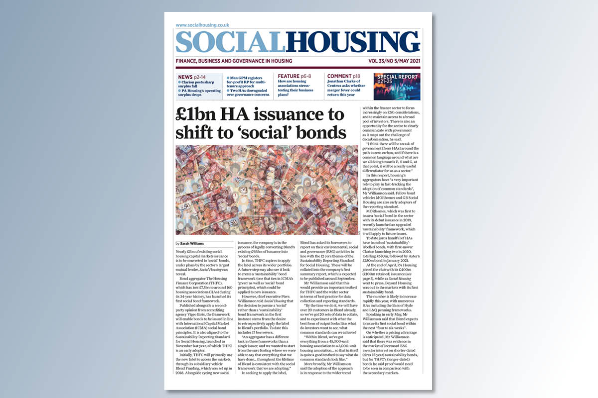May digital edition of Social Housing out now
