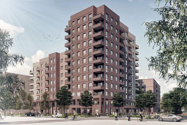 First 300 homes of huge London regeneration scheme given green light
