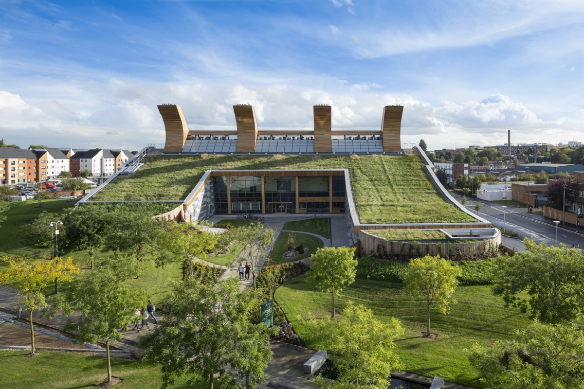 University of Nottingham GSK Carbon Neutral Laboratory for Sustainable Chemistry (Image Credit: University of Nottingham)