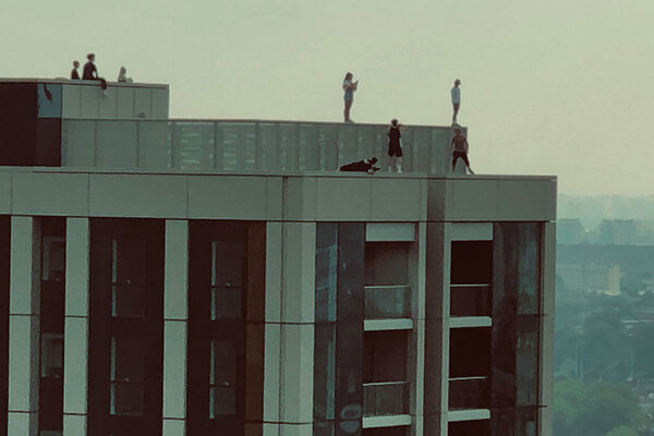 Housing association condemns rooftop trespassers on 28-storey tower
