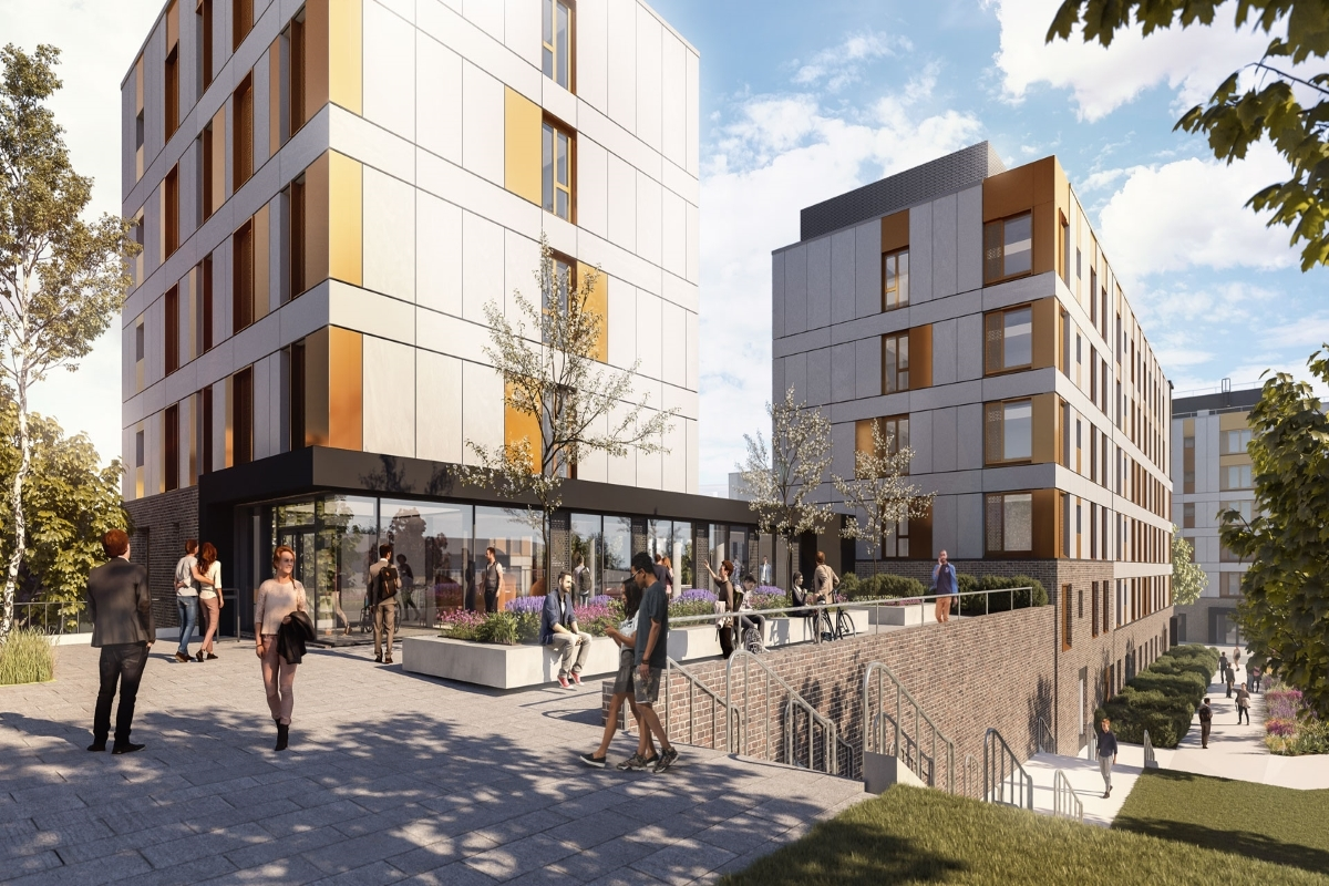 UWE Low Carbon Residences Stride Treglown (Image provided by Stride Treglown)