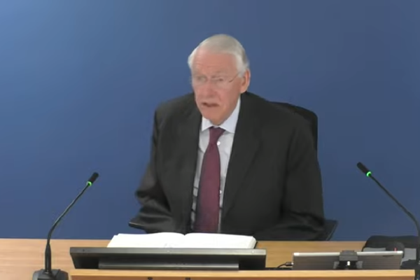 The government has promised to implement the recommendations of inquiry chair Sir Martin Moore-Bick (picture: Grenfell Tower Inquiry)