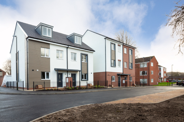 First new sustainable modular build homes in Chesterfield