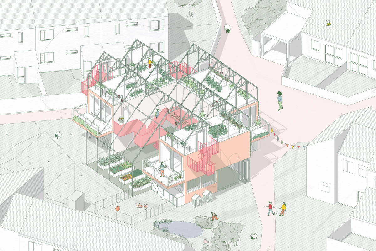A design from the Home of 2030 Young Persons' Design Challenge