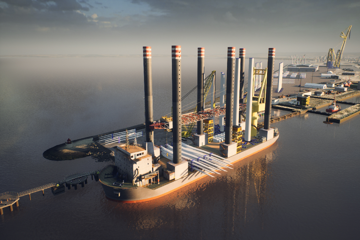 Ambitious renewable energy hub plans unveiled for the Port of Leith