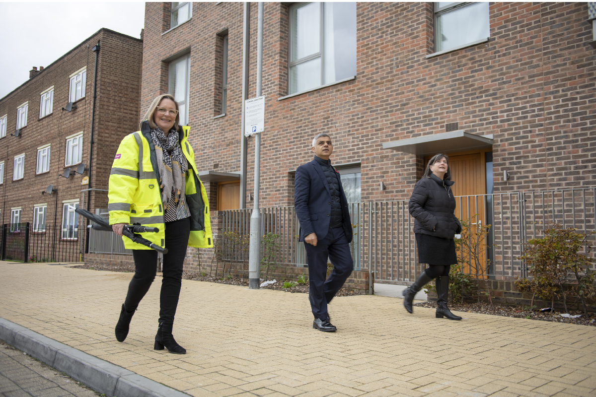 Housing Barking Visit (Photo Credit © Greater London Authority)
