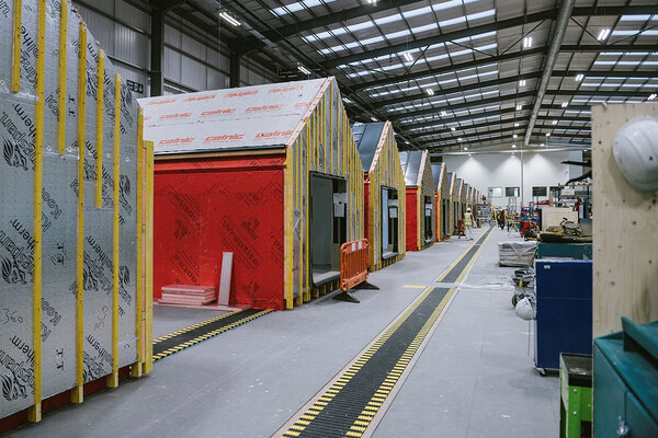 Three major modular firms appointed to social landlords' £600m framework