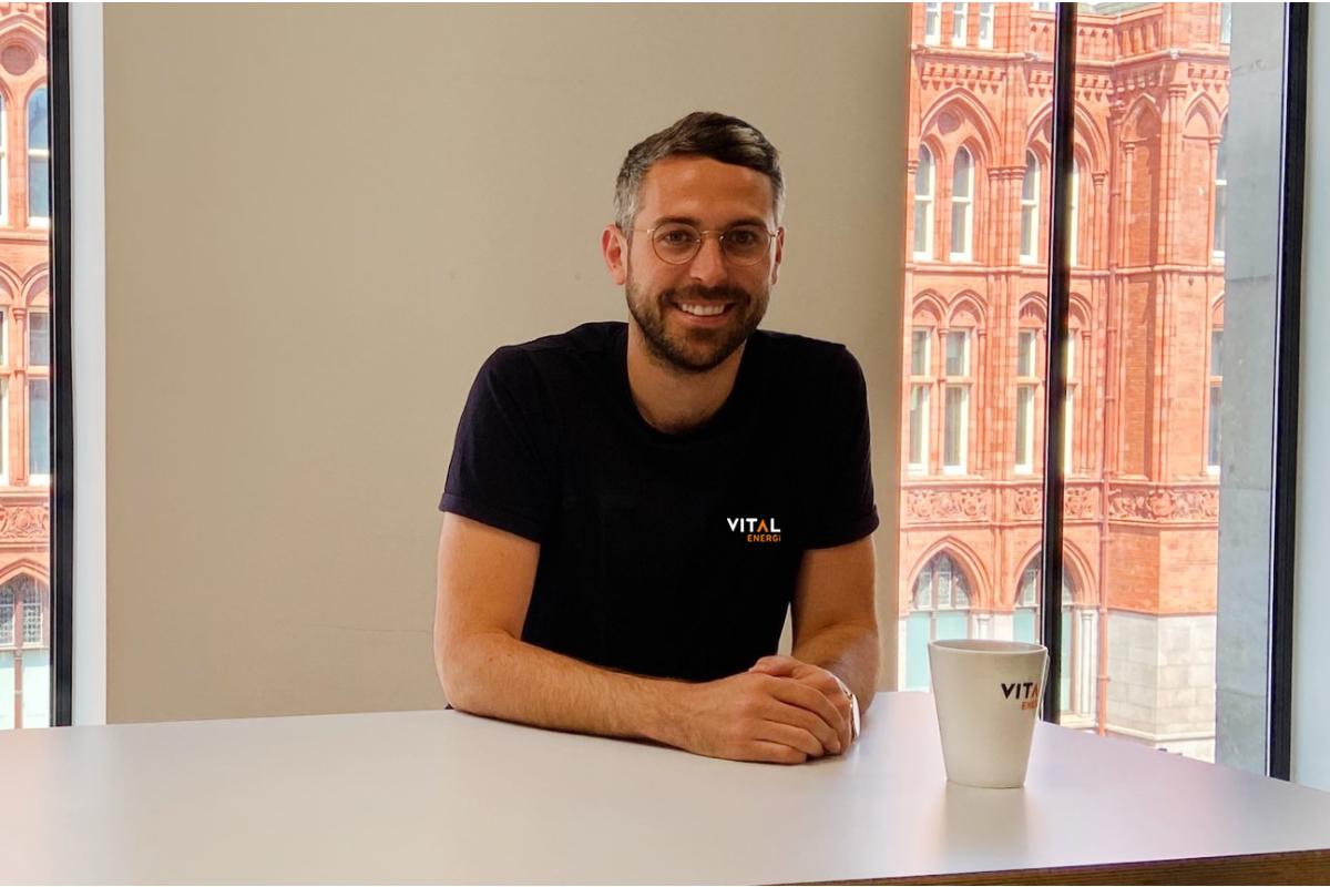 Elliott Sharpe, design director, Vital Energi