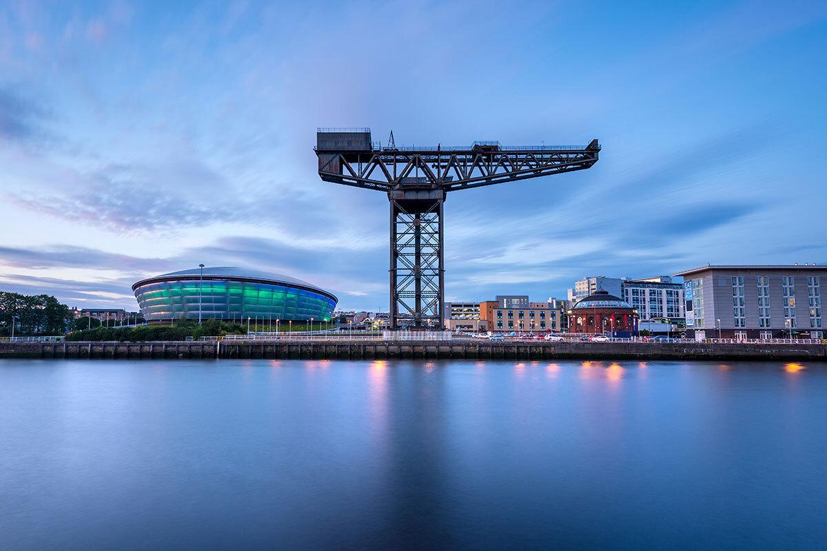 The Finnieston Crane in Glasgow (picture: Getty)