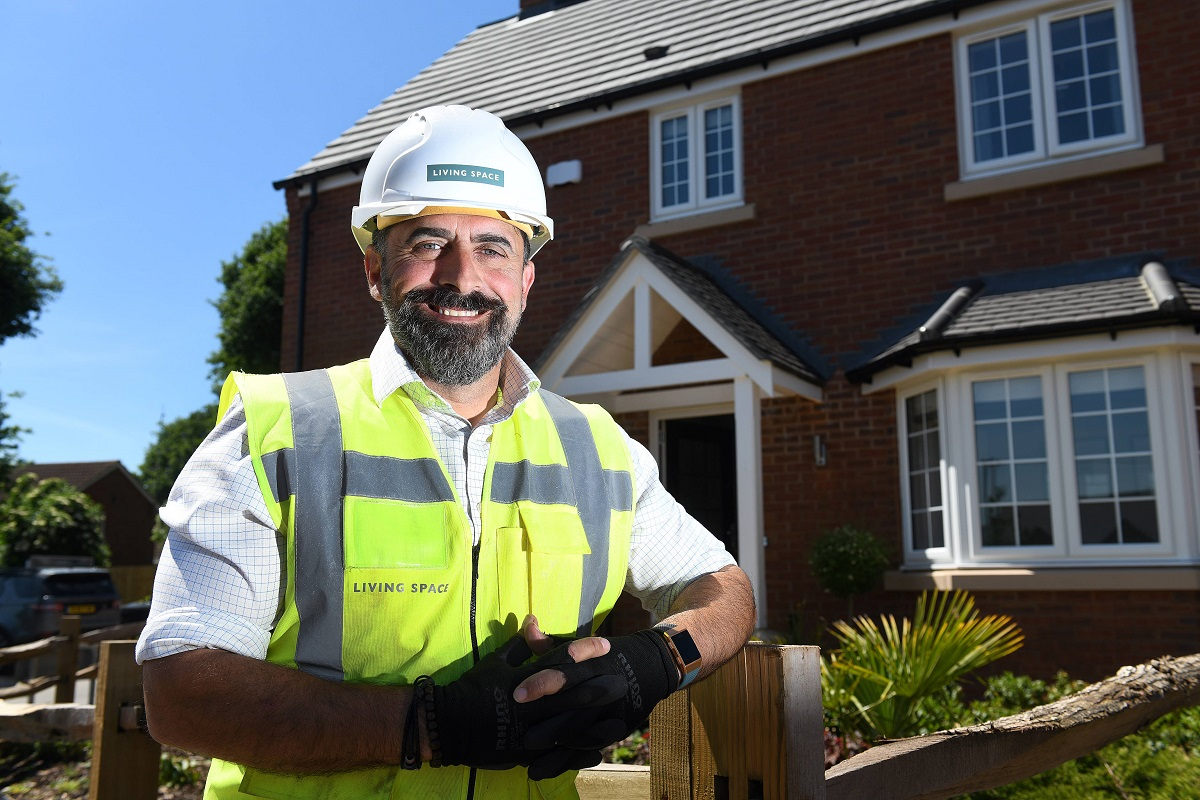 Martin Gaffney has been appointed project manager at Living Space Housing (picture: Living Space Housing)