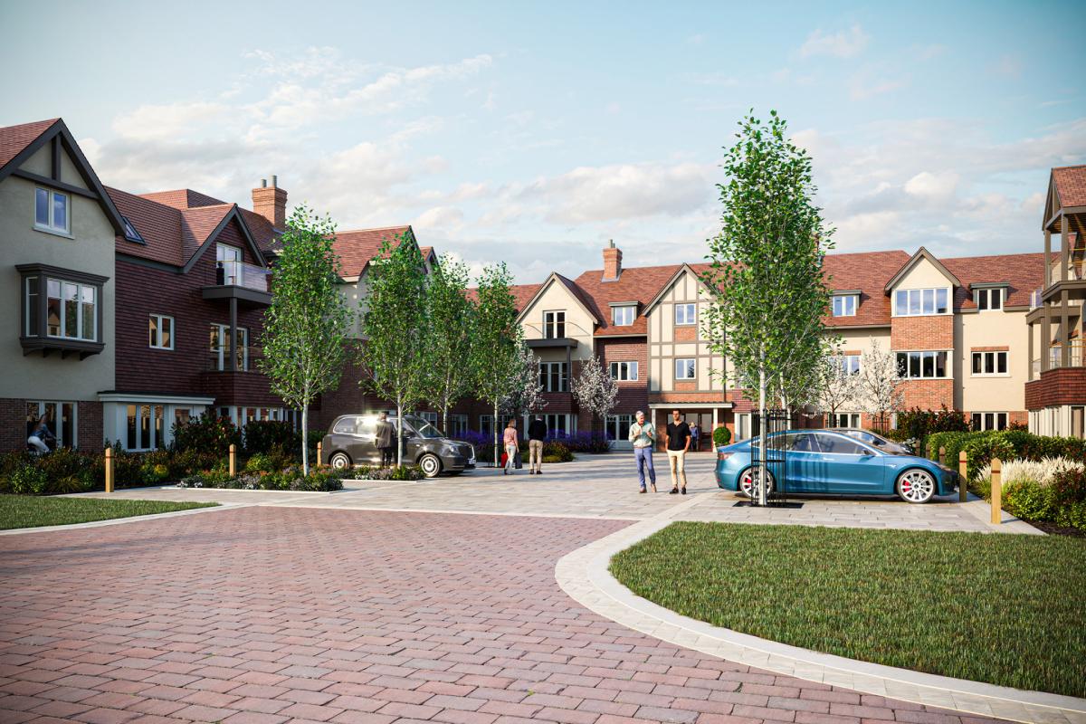UK's first net zero carbon retirement community in design