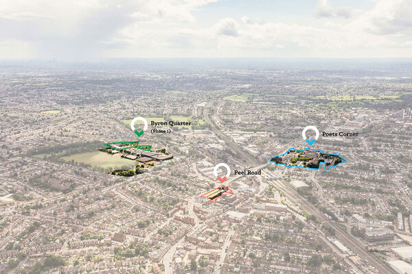 The joint venture will develop three underused sites in Harrow (picture: Harrow Council)