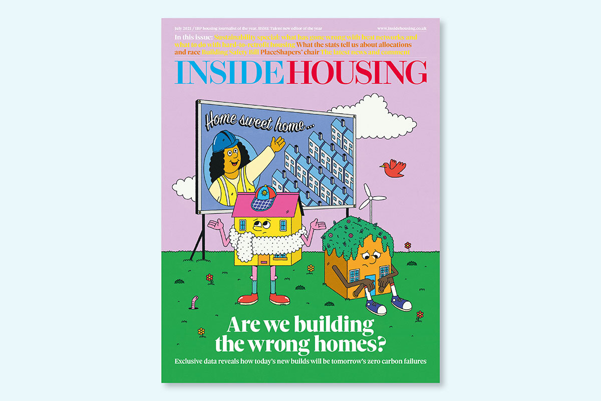 July 2021 digital edition of Inside Housing out now