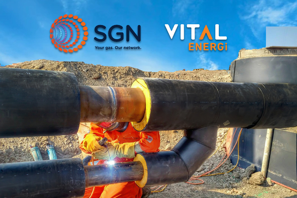 SGN & Vital Energi join forces to develop, own and operate low and zero carbon heat networks
