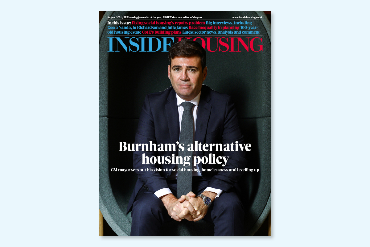 August 2021 digital edition of Inside Housing out now