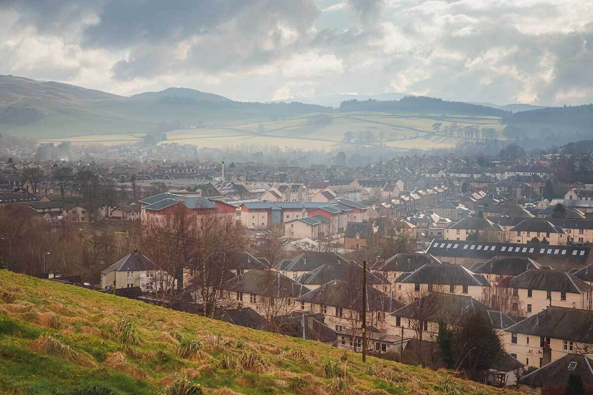 Scottish social housing completions slump by almost a third in 2020 due to COVID-19 restrictions