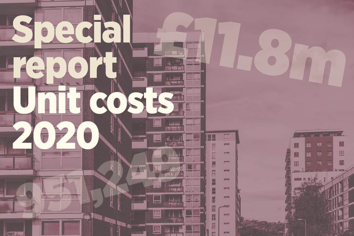 Special report: costs per unit rise just over 3% across housing associations