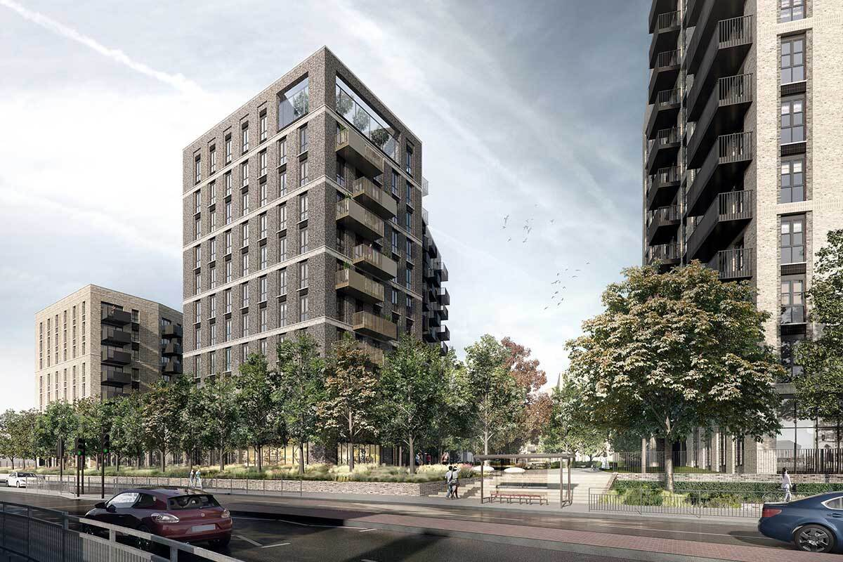 The Trinity Rise development in Woolwich, south London (picture: Lovell)