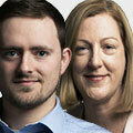 Mary Walsh and   Liam Hale